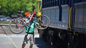 scenic bicycle, scenic bike, bike train, bicycle train, bike, train, bikes, trains