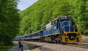 bike train, scenic bike train, bike trains, bike, train