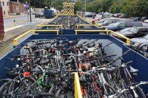 bike train, bicycle train, bike trains, bicycle trains