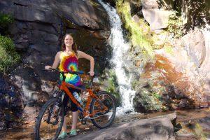 waterfall, biking, hiking, big day out