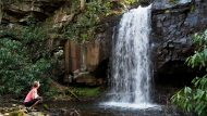 waterfall, Specialty Trips with Pocono Biking, Jim Thorpe, PA