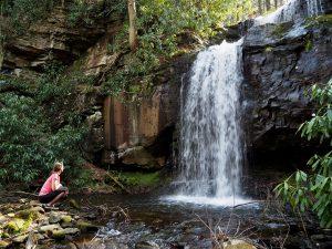 waterfall, Specialty Trips with Pocono Biking, Jim Thorpe, PA