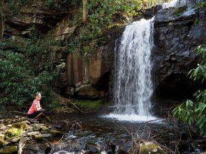 waterfall, waterfalls, waterfall photo, waterfalls photos, Specialty Trips with Pocono Biking, Jim Thorpe, PA