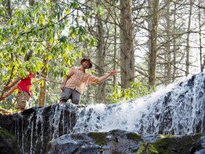 waterfall photo, waterfall, waterfalls, Hiking with Pocono Biking, Jim Thorpe, PA