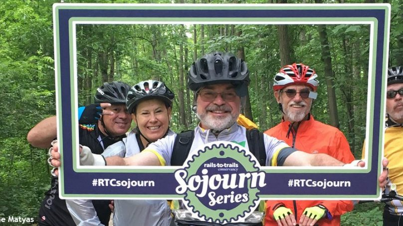Poconos Biking, Jim Thorpe, Rails to Trails Sojourn, D & L Trail
