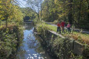 Pocono Biking, Jim Thorpe, Lehigh Gap Trail, Rail Trail Biking, big night out
