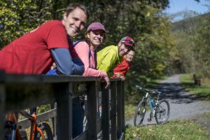 Spring Break, Rail Trail Biking, Pocono Biking, Poconos Biking, Jim Thorpe Biking, Bike Maps