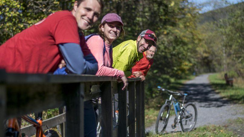 Rail Trail Biking, Pocono Biking, Poconos Biking, Jim Thorpe Biking, Bike Maps