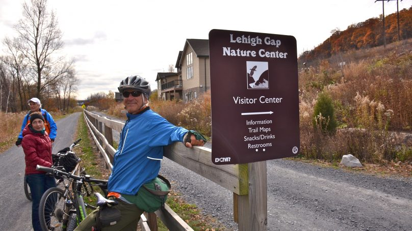 Pocono Biking, Lehigh Gap, D&L rail trail