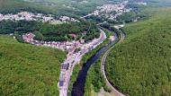 View of Jim Thorpe, PA